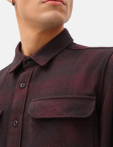 Dickies Plesent Hill Shirt - Maroon