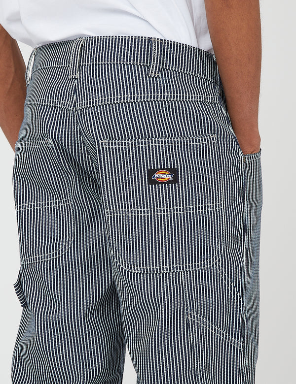 Dickies Garyville Pant - Blue/White Hickory Stripe