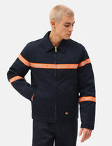Dickies Gardere Reflective Tape Eisenhower Jacket - Dark Navy