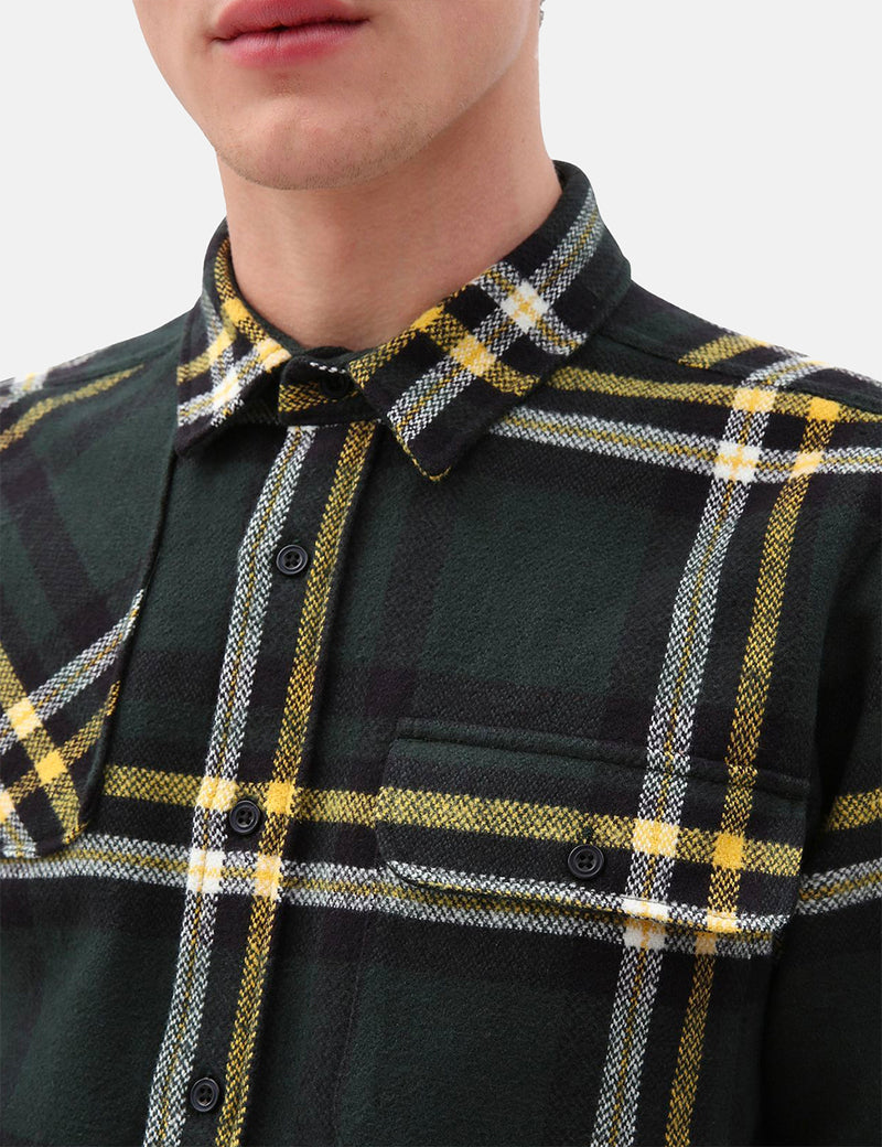 Dickies Prestonburg Long Sleeve Shirt - Olive Green