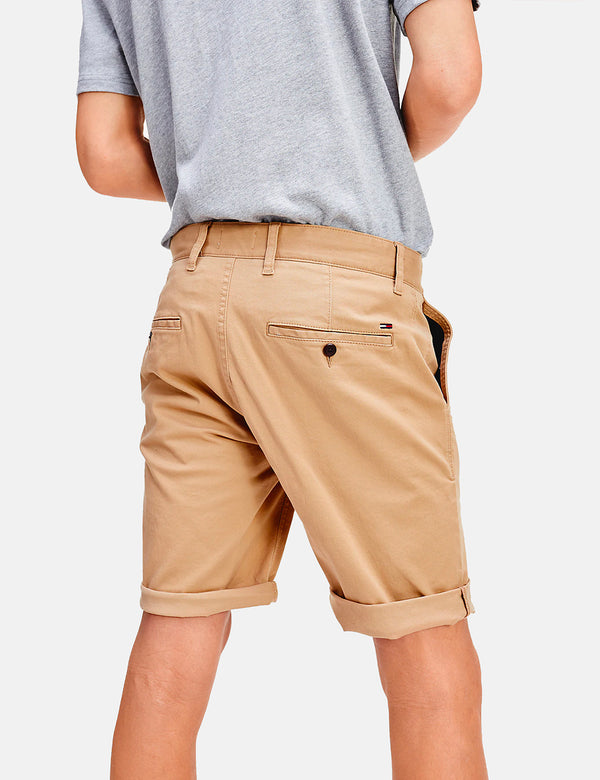 Tommy Jeans Essential Chino Shorts - Classic Khaki