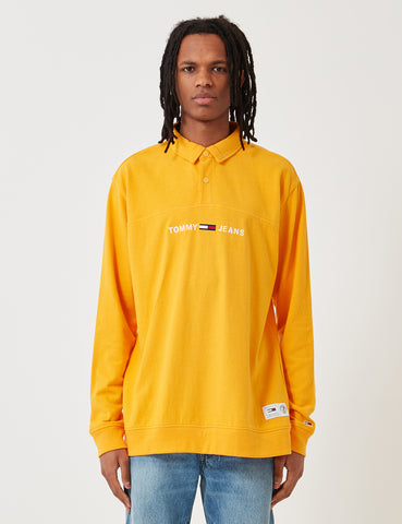 Tommy Hilfiger Rugby Shirt - Radiant Yellow