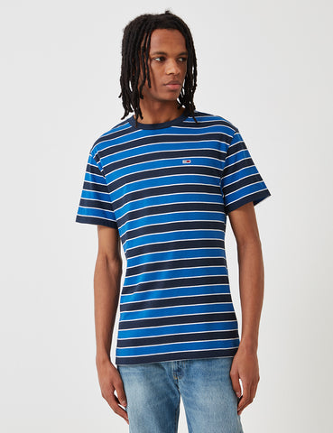 Tommy Hilfiger Bold Stripe T-Shirt - Limoges Blue/Black