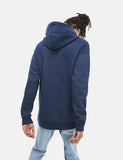 Tommy Hilfiger Straight Logo Hooded Sweatshirt - Black Iris