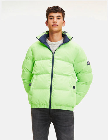Tommy Jeans Reversible Padded Jacket - Black Iris Navy