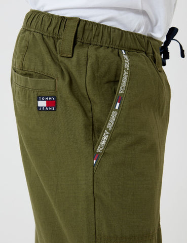 Tommy Jeans Pieced Jog Pant (Ripstop) - Cypress Green