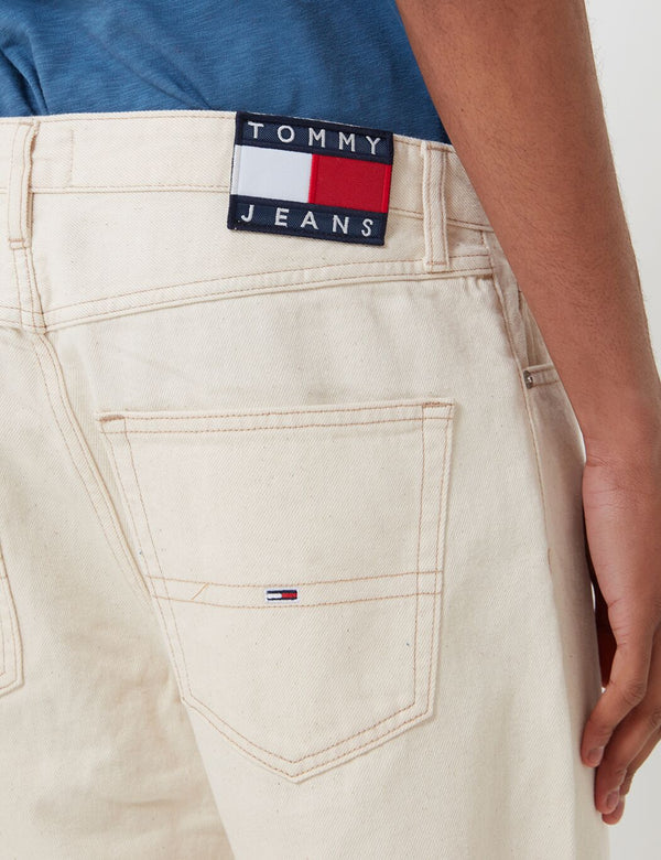 Tommy Jeans Dad Jeans (Straight Leg) - Work Ecru Rigid