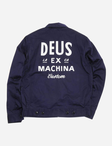 Deus Ex Machina Workwear Jacket - Eclipse Blue