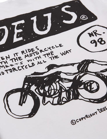 Deus Ex Machina NR98 T-Shirt - White