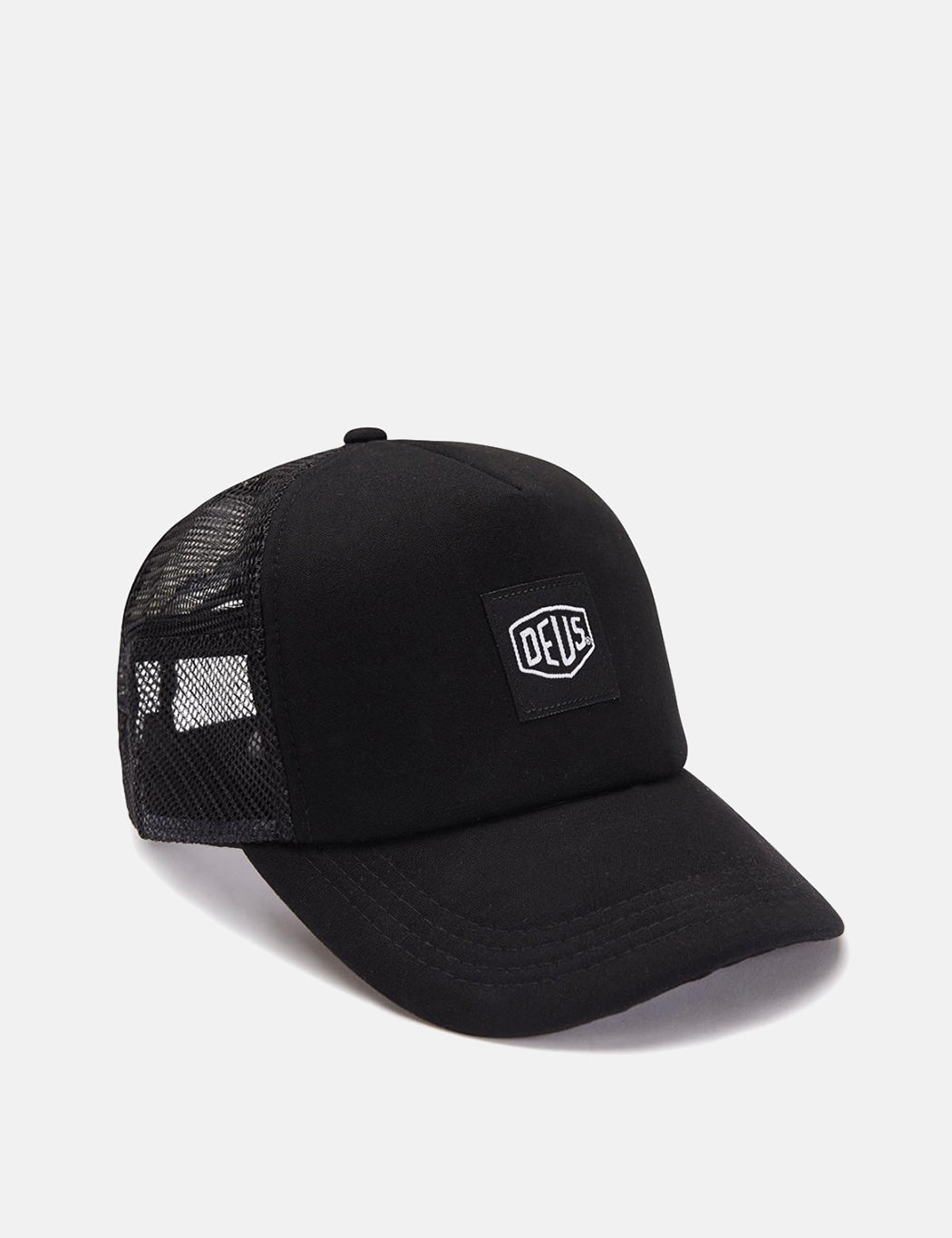 Deus Ex Machina Glover Trucker Cap - Black