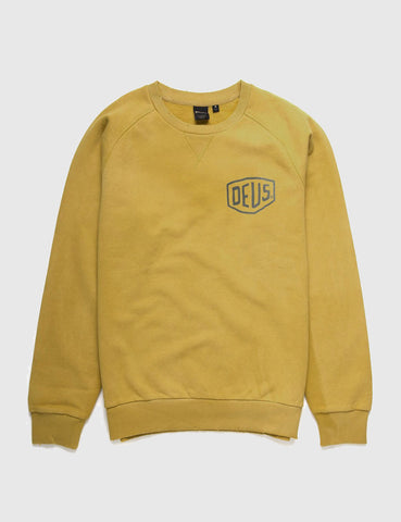 Deus Ex Machina Sunbleached Milan Sweatshirt - Gold