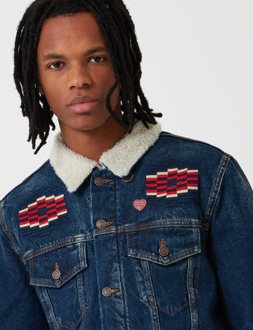 Deus Ex Machina 747 Ronald Jacket - Vintage Indigo Blue