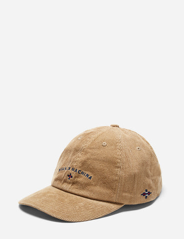 Deus Ex Machina Moon Dad Cap - Dijon Yellow