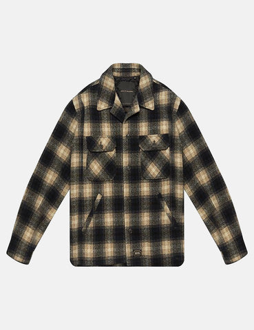 Deus Ex Machina Piston Wool Overshirt - Green