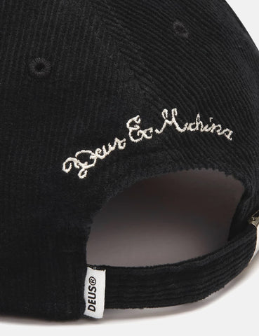 Deus Ex Machina Cherry Cap (Cord) - Black
