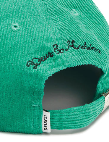 Deus Ex Machina Cherry Cap (Cord) - Turquoise Green