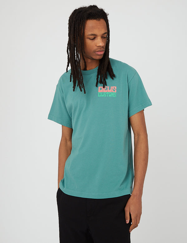 Deus Ex Machina Won Ton T-Shirt - Tropic Teal