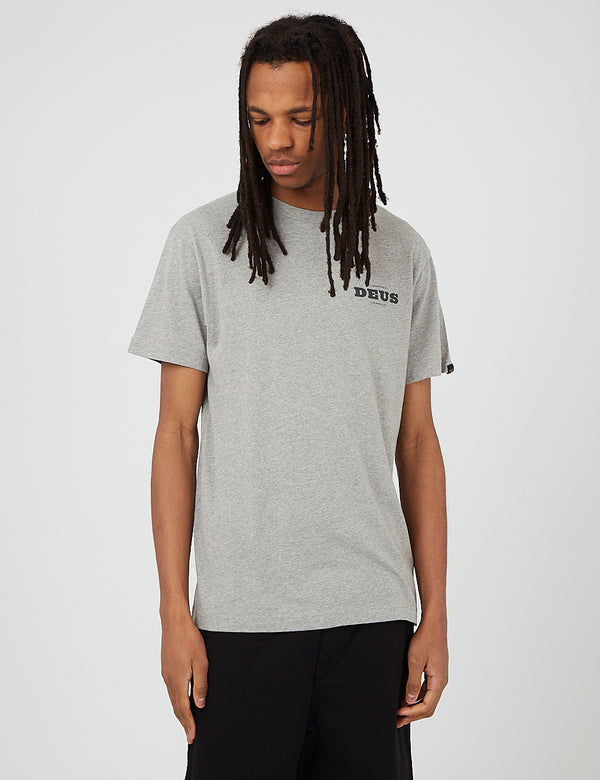Deus Ex Machina Loco T-Shirt - Grey Marle
