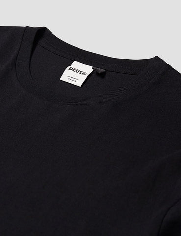 Deus Ex Machina New Standard T-Shirt - Black
