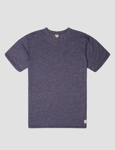 Deus Ex Machina Terry Slub T-Shirt - Navy