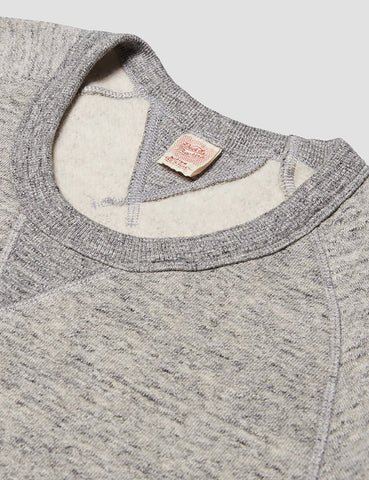 Deus Ex Machina Terry Slub Sweatshirt - Grey Marl