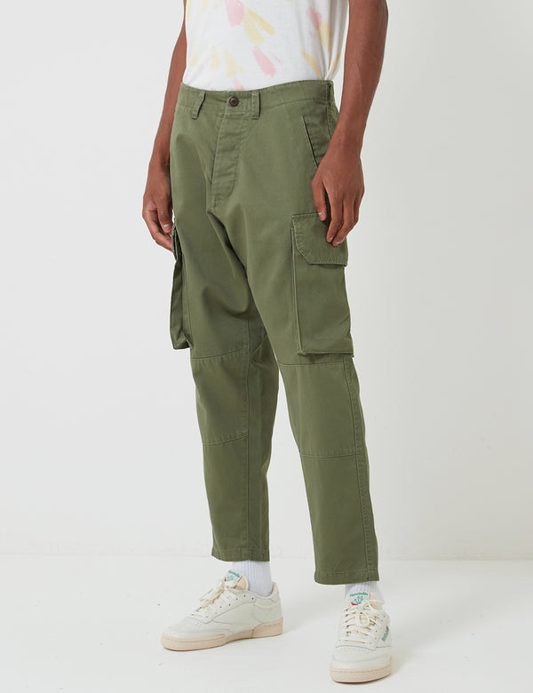 Pantalon Militaire Deus Ex Machina Dragon - Clover Green