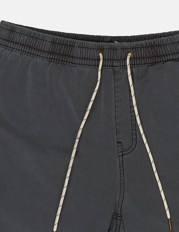 Deus Ex Machina Sandbar Garment Dye Shorts - Phantom Black