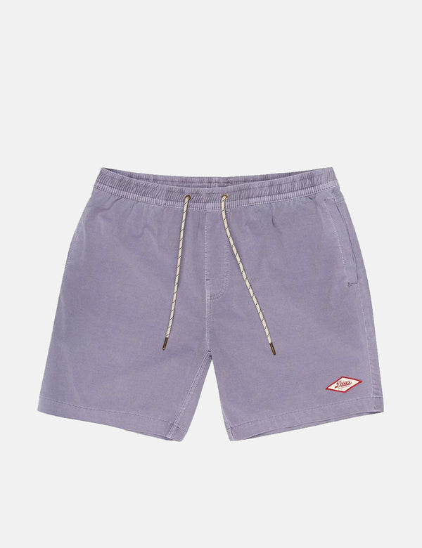 Deus Ex Machina Sandbar Garment Dye Shorts - Silver Grey