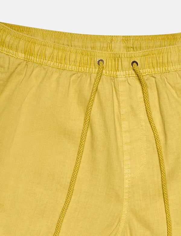 Short Deus Ex Machina Sandbar Garment Dye - Super Lemon