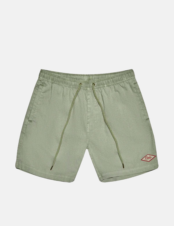 Deus Ex Machina Sandbar Garment Dye Shorts - Tea Green