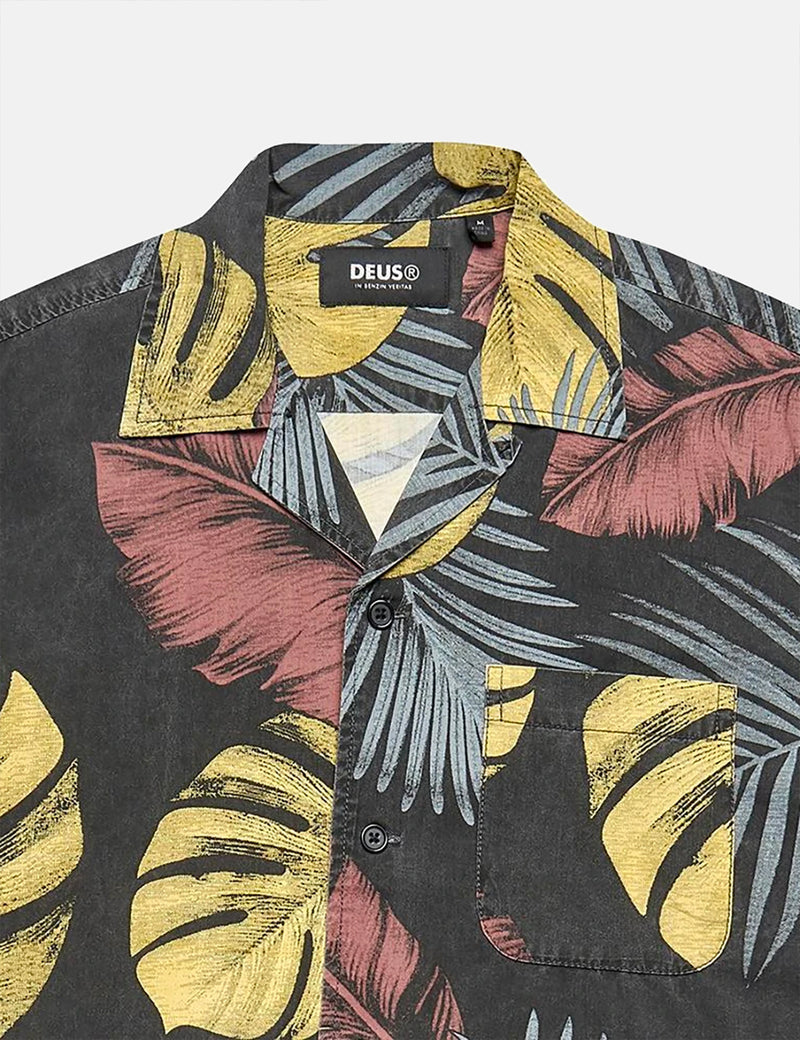 Deus Ex Machina Dean Noosa Shirt - Black