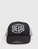 Deus Ex Machina Baylands Trucker Cap - Black/Grey