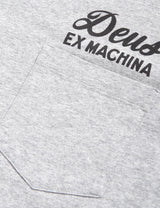Deus Ex Machina Address Tokyo Pocket T-shirt - Grey Marble