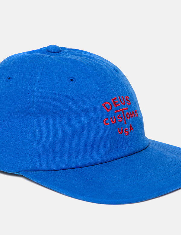 Deus Ex Machina Rolan Cap - Bonnie Blue