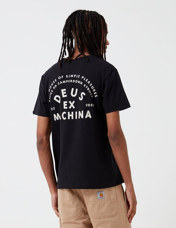 T-Shirt Deus Ex Machina The Landie - Noir