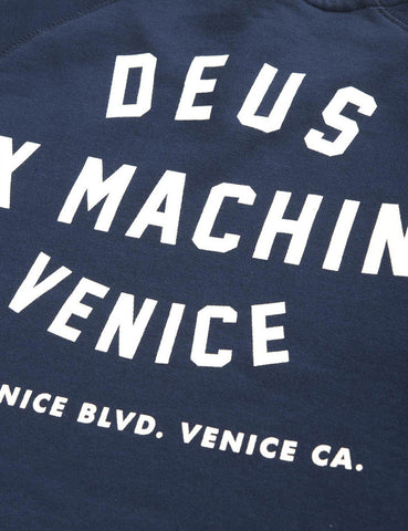 Deus Ex Machina Address Venice LA Sweat - Navy