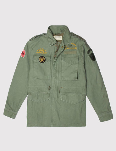 Deus Ex Machina Land M65 Jacket - Army Green