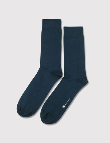 Democratique Solid Socks - Emerald Green