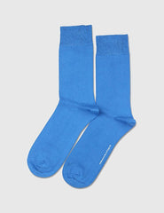 Democratique Solid Socks - Blue Eyes