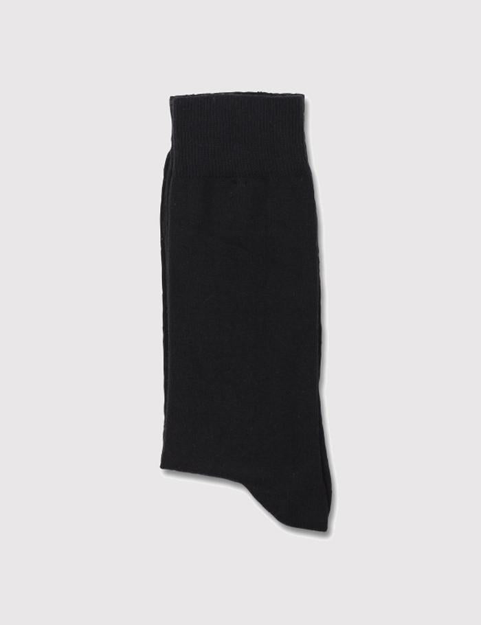 Democratique Solid Socks - Black
