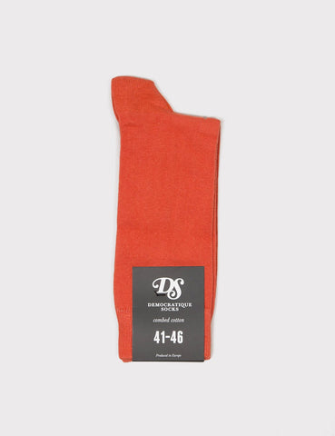 Democratique Solid Socks - Orange