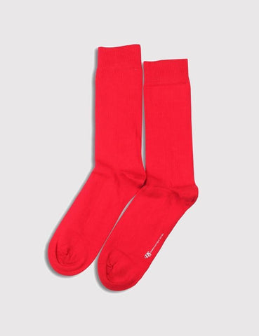 Democratique Original Socks - Spring Red