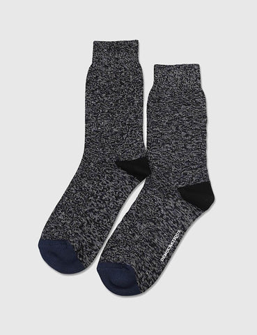Democratique Relax 8 by 8 Weave Socks - Black