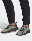adidas Nite Jogger Shoes (EE5569) - Black / Seasame / Orange