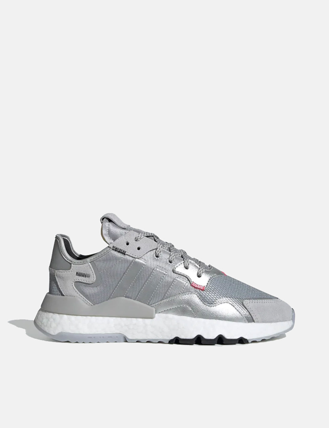 adidas Nite Jogger Shoes (EE5851) - Silver Metallic / Light Solid Grey / Core Black