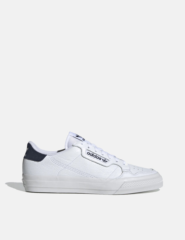 adidas Continental Vulc Shoes (EG4588) - White/White/Navy