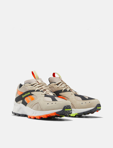 Reebok Aztrek 93 Adventure - Beige/True Grey/Solar Orange