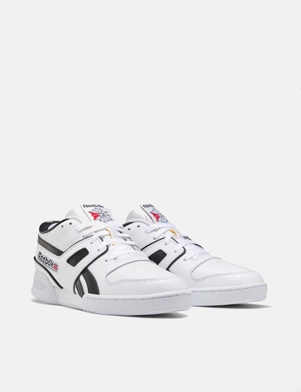 Reebok Pro Workout Lo MU - White/Black/Exc Red