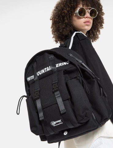 Eastpak x White Mountaineering Pak'r Backpack - Dark Black