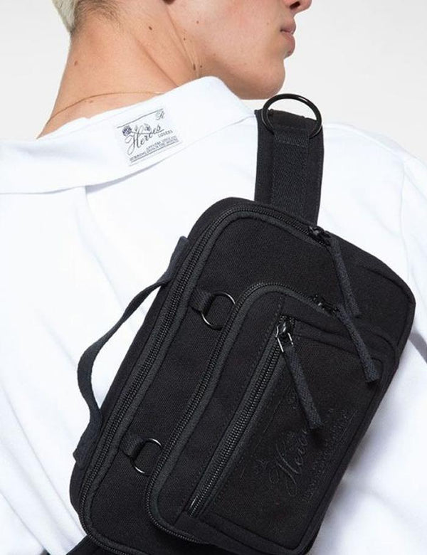 Eastpak x Raf Simons Waistband Loop Hip Bag - Black